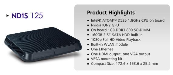 NEXCOM's New Cost-Effective ION2 Digital Signage Player